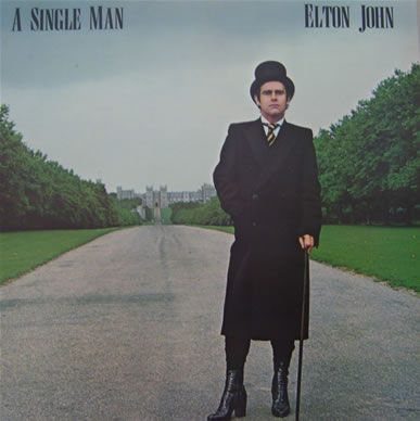 Elton John - A Single Man - (train1 1978 mint) 12 inch vinyl