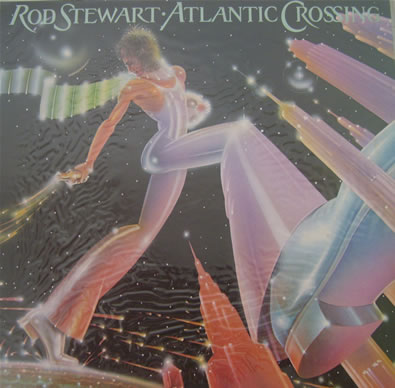 Rod Stewert - Atlantic Crossing - 1975 12 inch vinyl