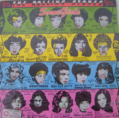 Rolling Stones - Some Girls 12 inch vinyl