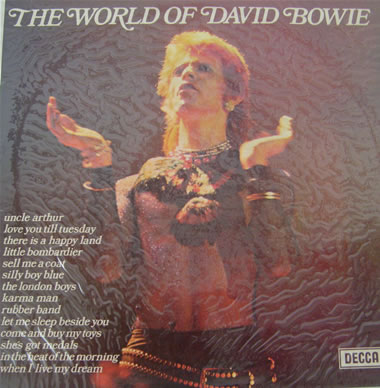 David Bowie - The World Of David Bowie 12 inch vinyl