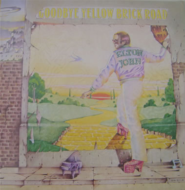 Elton John - Goodbye Yellow Brick Road 12 inch vinyl