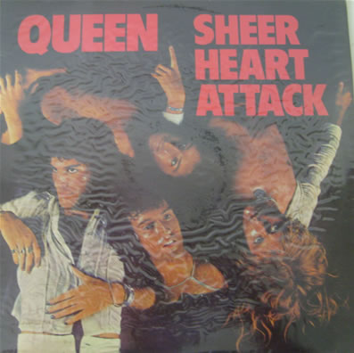 Queen - Sheer Heart Attack 12 inch vinyl