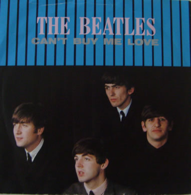 The Beatles - Cant Buy Me Love 7 Inch Vinyl