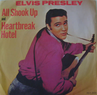 Elvis Presley - All Shook Up 7 Inch Vinyl