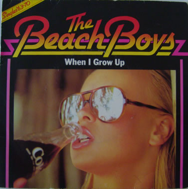 The Beach Boys - When I Grow Up 7 Inch Vinyl