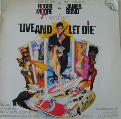 Live And Let Die Soundtrack - 12 Inch Vinyl