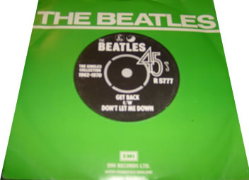 The Beatles - Get Back 7 inch vinyl