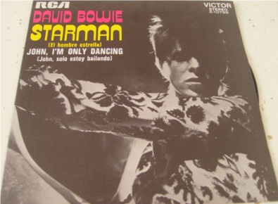David Bowie - Starman - Spanish import mint 7 Inch Vinyl