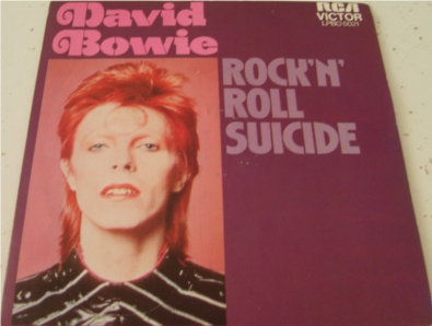 David Bowie - Rock n Roll Suicide - French import 7 Inch Vinyl