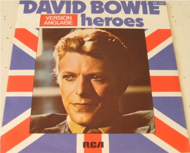 David Bowie - Heroes (Anglaise Version) 7 Inch Vinyl