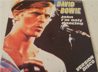 David Bowie - John Im Only Dancing / New Wave Version 7 Inch Vinyl