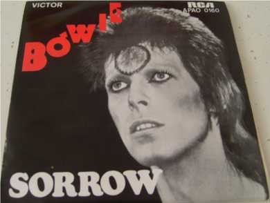 David Bowie - Sorrow / Amsterdam Portugal Import 7 Inch Vinyl