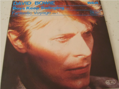 David Bowie - Boys Keep Swinging / Fantastic Voyage 7 Inch Vinyl
