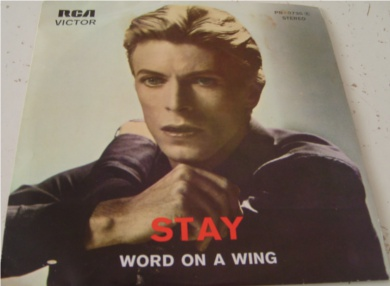 David Bowie - Stay - Portugal Import 7 Inch Vinyl
