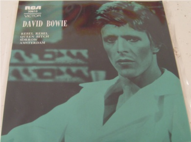 David Bowie - Rebel Rebel - Australia Import 7 Inch Vinyl