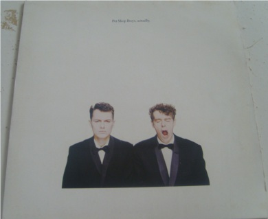 Pet Shop Boys - Actually 12 inch vinyl