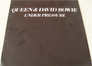 Queen & David Bowie - Under Pressure 7 inch vinyl