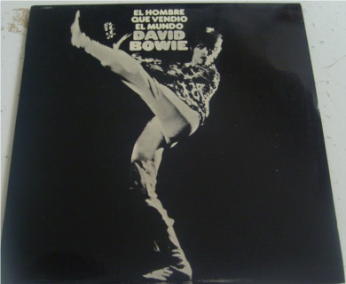 David Bowie - Man Who Sold The World - Spanish Press 12 inch vinyl