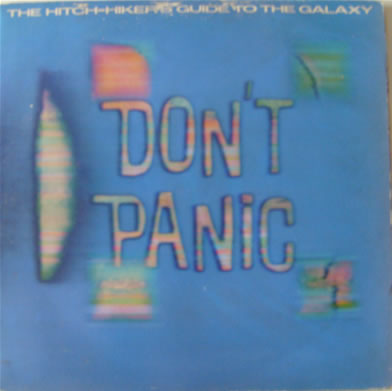 The Hitch-Hikers Guide To The Galaxy - Gatefold Double LP Audio Story - 12 Inch Vinyl