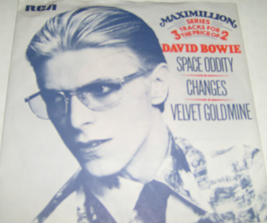 David Bowie - Space Oddity / Changes / Velvet Goldmine 7 Inch Vinyl