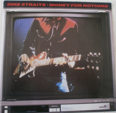 Dire Staits - Money For Nothing 7 Inch Vinyl