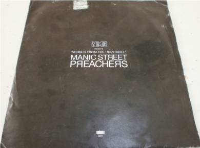 Manic Street Preachers - Verses For The Holly Bible (flexi disk) 7 Inch Vinyl