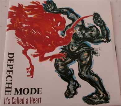 Depeche Mode - Its Called A Heart 7 inch vinyl