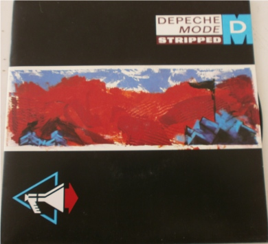Depeche Mode - Stripped 7 inch vinyl