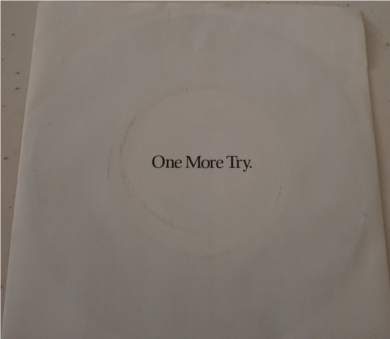 George Micheal - One More Try 7 inch vinyl