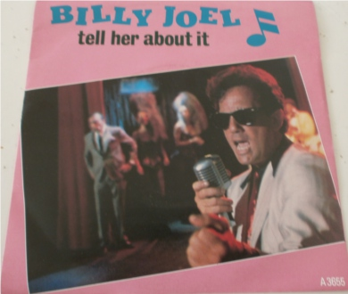 Billy Joel - Tell Her About It 7 Inch Vinyl