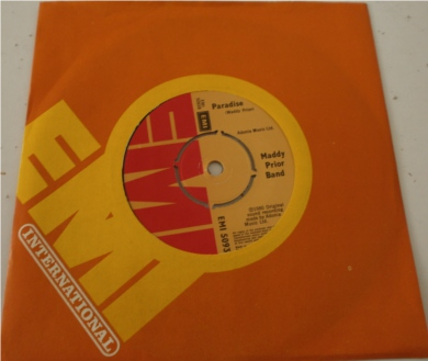 Maddy Prior Band - Paradise 7 Inch Vinyl