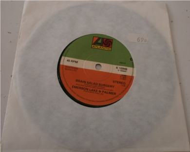 Emerson, Lake & Palmer - Fanfare For The Commen Man 7 Inch Vinyl