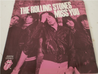 The Rolling Stones - Miss You 7 Inch Vinyl