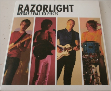 Razorlight - Before I Fall To Pieces 7 Inch Vinyl