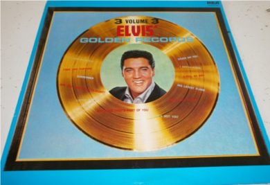 Elvis - Golden Records Vol 3 12 inch vinyl