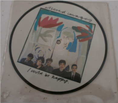 Altered Images - I Could Be Happy 7 Inch Vinyl