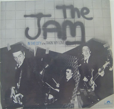 The Jam - In The City 7 inch vinyl