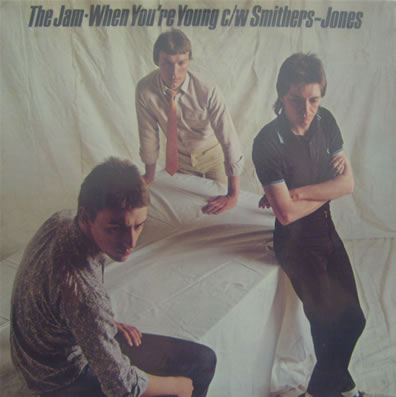 The Jam - When You're Young 7 inch vinyl