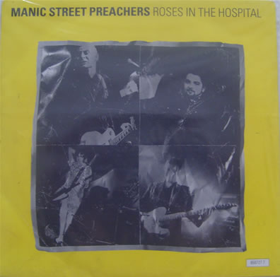 Manic Street Preachers - Roses in the Hospital 7 inch red vinyl