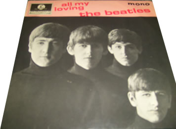The Beatles - All My Loving 7 inch vinyl