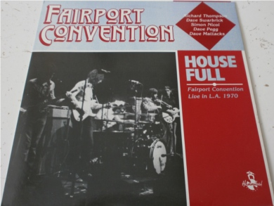 Fairport Convention - House Full 12 inch vinyl