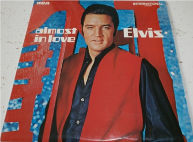 Elvis - Almost in Love - MINT 12 inch vinyl
