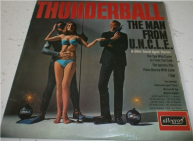 Thunderball / The Man From Uncle & Other Secret Agent Themes 12 Inch Vinyl
