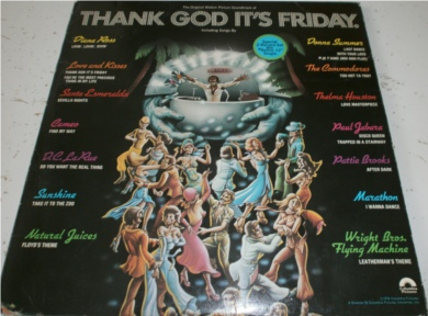 Thank God Its Friday (tear to corner of cover) 12 Inch Vinyl