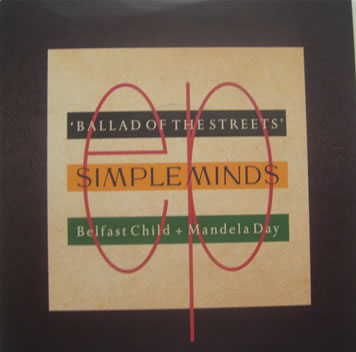 Simple Minds - Belfast Child (Full length version) 7 Inch Vinyl