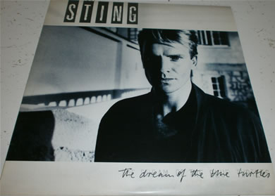 Sting - The Dream Of The Blue Turtles 12 inch vinyl