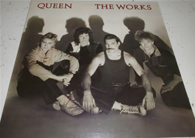 Queen - The Works 12 inch vinyl