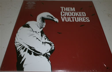 Them Crooked Vultures - mint 12 inch vinyl