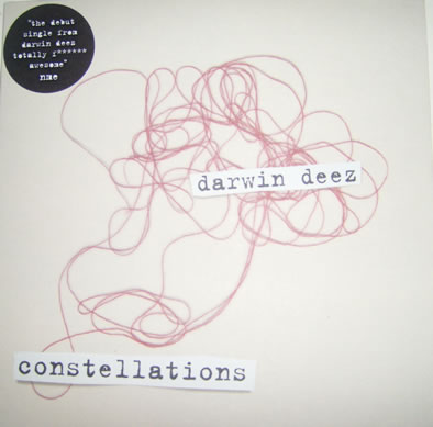Darwin Deez - Constellations 7 Inch Vinyl