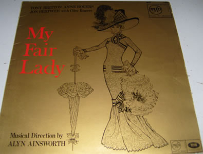 My Fair Lady - Britton/Rodgers/Pertwee 12 Inch Vinyl
